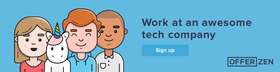 Sponsored: Work at an awesome tech company - OfferZen